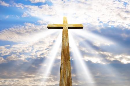 cross against the sky