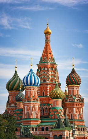 Moscow, Russia, Saint Basil's cathedral