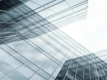 contemporary striped black texture of glass architecture