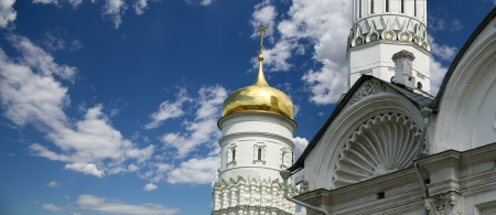 Ivan the Great Bell-Tower complex. Moscow Kremlin, Russia
