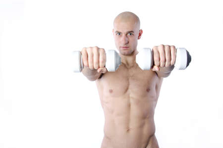Photo for Fitness and healthy lifestyle. Handsome man. - Royalty Free Image