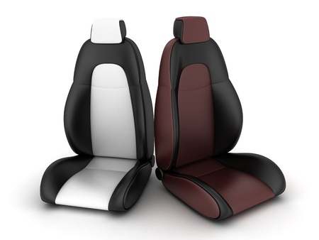 Two driver seat (done in 3d)