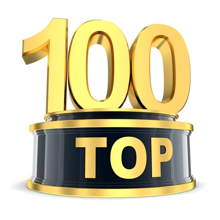 Top 100 of the year  done in 3d