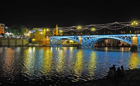 Triana bridge, Seville, Spain