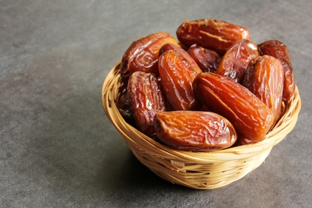 Photo for Dried Date fruit healthy snack - Royalty Free Image