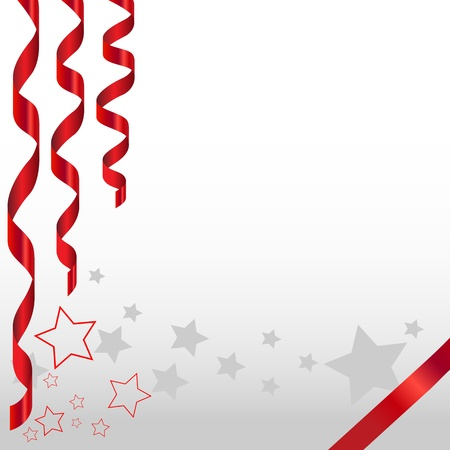 Celebration background with stars and narrow goods
