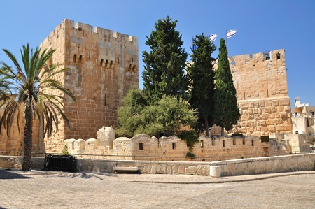 Citadel of King David in Old Jerusalem.