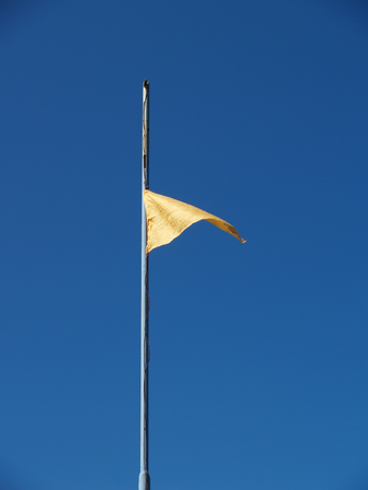 Yellow alarm flag