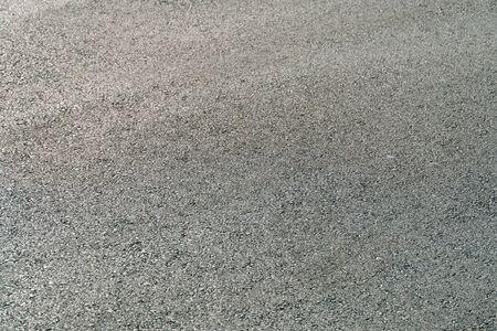 Photo for Seamless tarmac dark grey grainy road. Texture background - Royalty Free Image