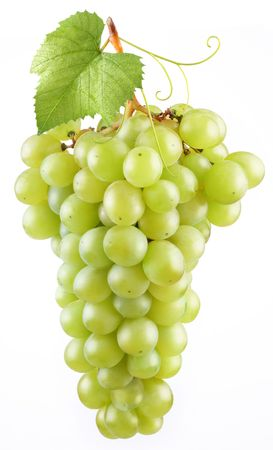 Grape in a white background