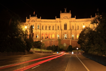 Maximilianeum - Bavarian Parliament at night