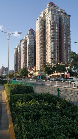 Residential quarters of Xi'an hi tech Development Zone