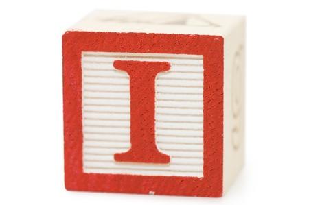 Photo pour Cubes with letters isolated on white - image libre de droit