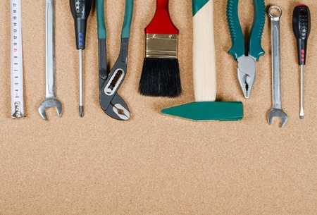 Building tools on a corkboard