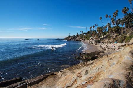 Laguna Beach on a sunny day
