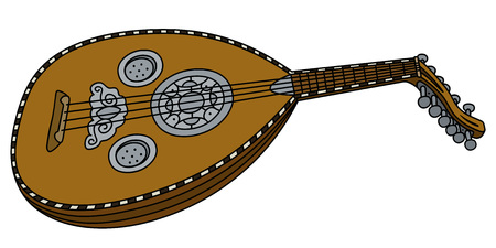 Historical lute