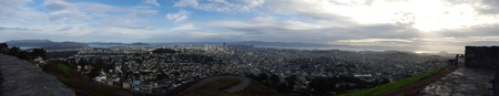 San Francisco from Twins Peak