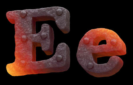 Photo pour Forge hot metal font rivet - image libre de droit