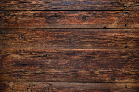 Photo for Old rustic red wood background, wooden surface with copy space - Royalty Free Image
