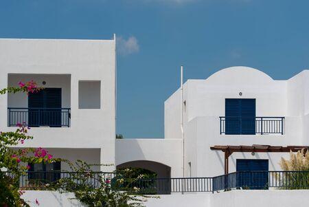 Photo pour Architecture Details of Houses on Kos Island Greece - image libre de droit