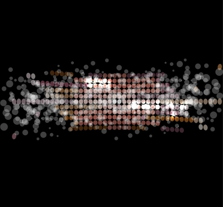 abstract disco light stars background