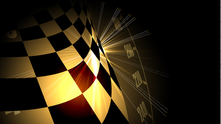 Illustration pour Racing speed background, vector illustration. Motion abstract - image libre de droit