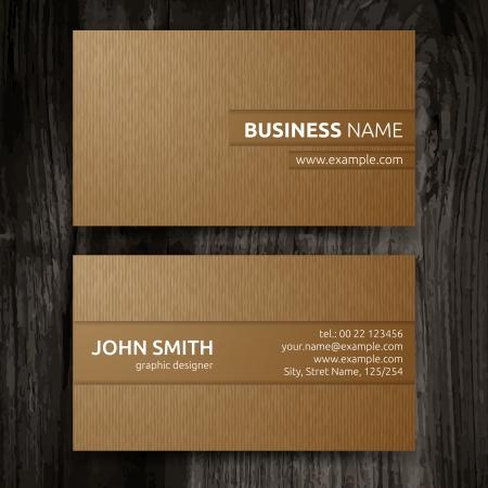 Photo pour Vector abstract creative business cards  set template  - image libre de droit