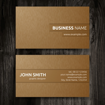 Foto de Vector abstract creative business cards  set template  - Imagen libre de derechos