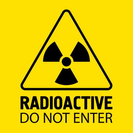 Illustration pour Biohazard sign. Danger symbol. Vector flat icon - image libre de droit