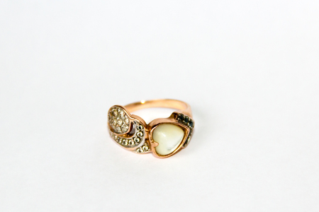 jewelry from gold, silver, precious decoration