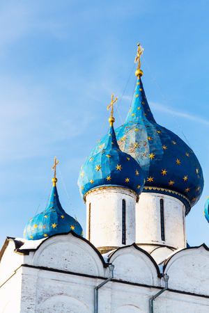 Cathedral of Nativity of the Virgin ( The Cathedral of the Nativity of the Theotokos) in Suzdal Kremlin in Vladimir oblast of Russia