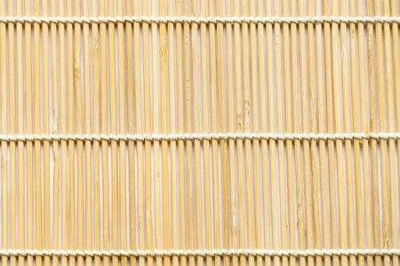 Photo for texture of wooden mat woven from linden wood sticks - Royalty Free Image