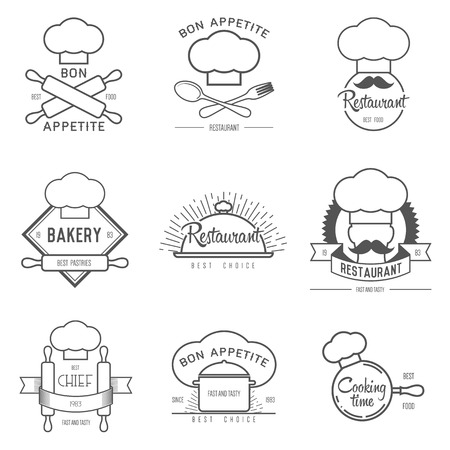 inspiration for restaurant or cafe. Vector Illustration, graphic elements editable for design.