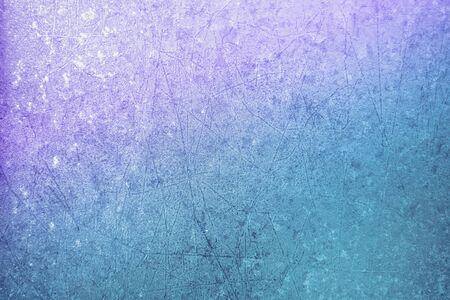 Photo pour Frozen window glass. Abstract natural background. Color gradient. Winter window - image libre de droit