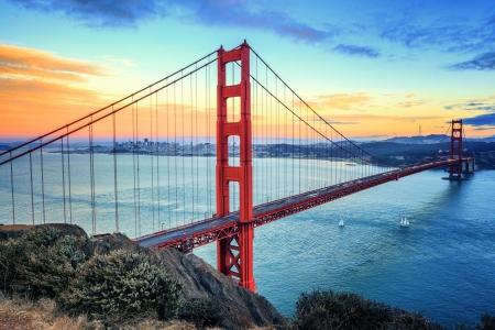 Golden Gate Bridge Morning