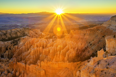 Amphitheater from Inspiration Point, Bryce Canyon National Park, Utah, USA