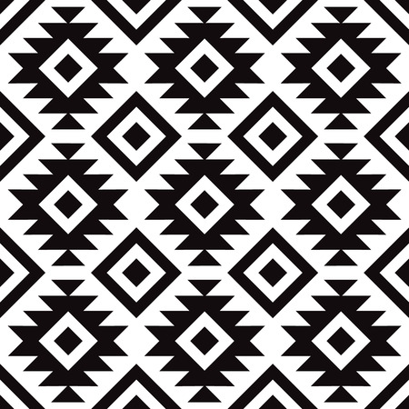 Illustration pour Decorative pattern for the background, tile and textiles. It is assembled from modular parts. Vector. Seamless. - image libre de droit