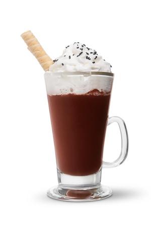 Photo pour Hot chocolate - image libre de droit