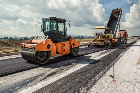 Photo for Road Construction - Royalty Free Image