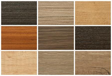 Photo pour Chipboards, color palette and texture for furniture - image libre de droit