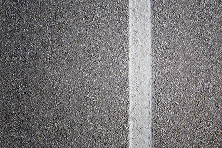Photo pour White line on the road background - image libre de droit