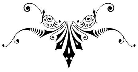 Ornamental design, digital artwork
