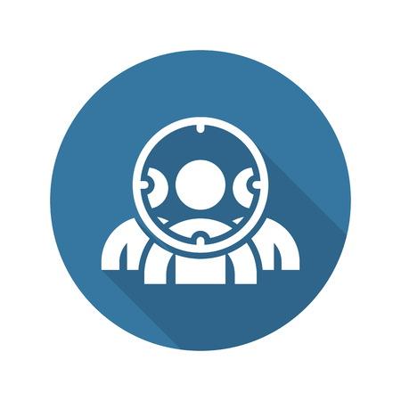Illustration pour Customer Focus Icon. Flat Design. Business Concept. Isolated Illustration. - image libre de droit