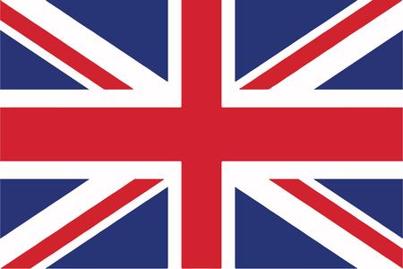 Illustration pour United Kingdom Flag - image libre de droit