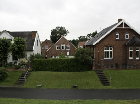Ditzum houses