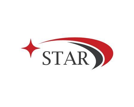 Illustration pour Star Logo Template vector icon illustration design - image libre de droit
