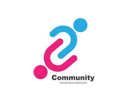 Illustration pour leadership,community,social and company icon vector design - image libre de droit