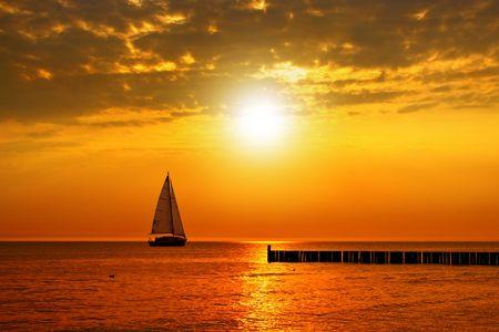 Foto de Golden sunset - Imagen libre de derechos