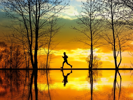 Photo for Jogging - Royalty Free Image