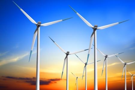 Photo pour Wind turbine - image libre de droit